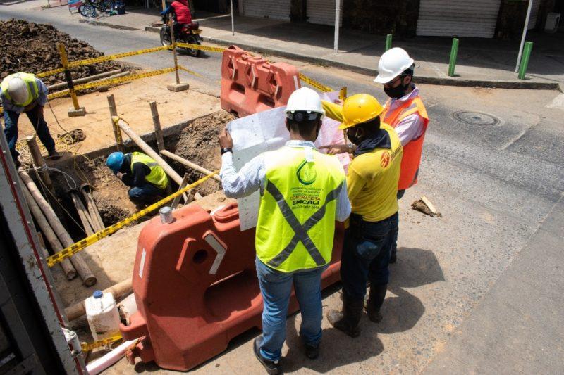 WMI continúa su intervención en Cali, in Colombia, para reducir las pérdidas de agua
