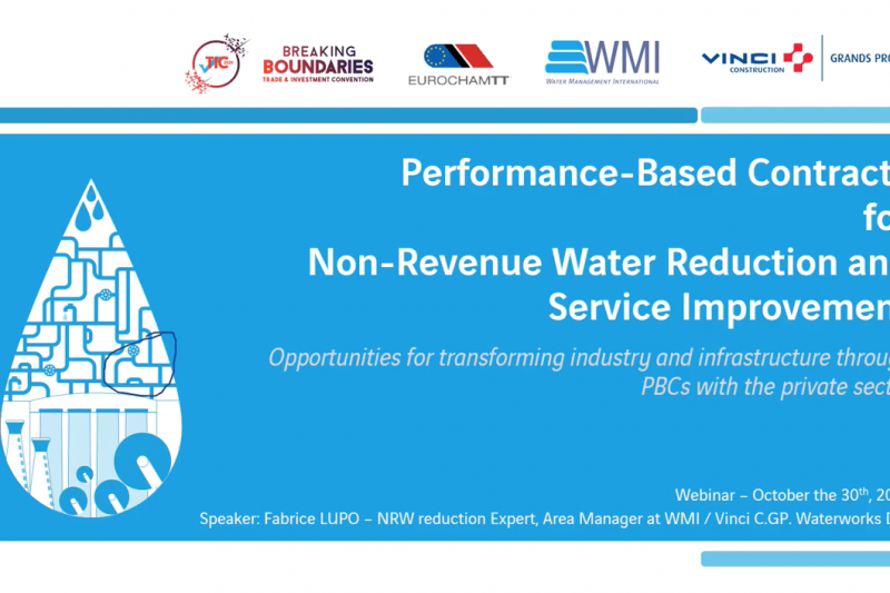 Performance-based contracts for non-revenue water reduction and service improvement